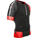 Tricou Alergare Compressport Trail Trail Running V2 Barbati